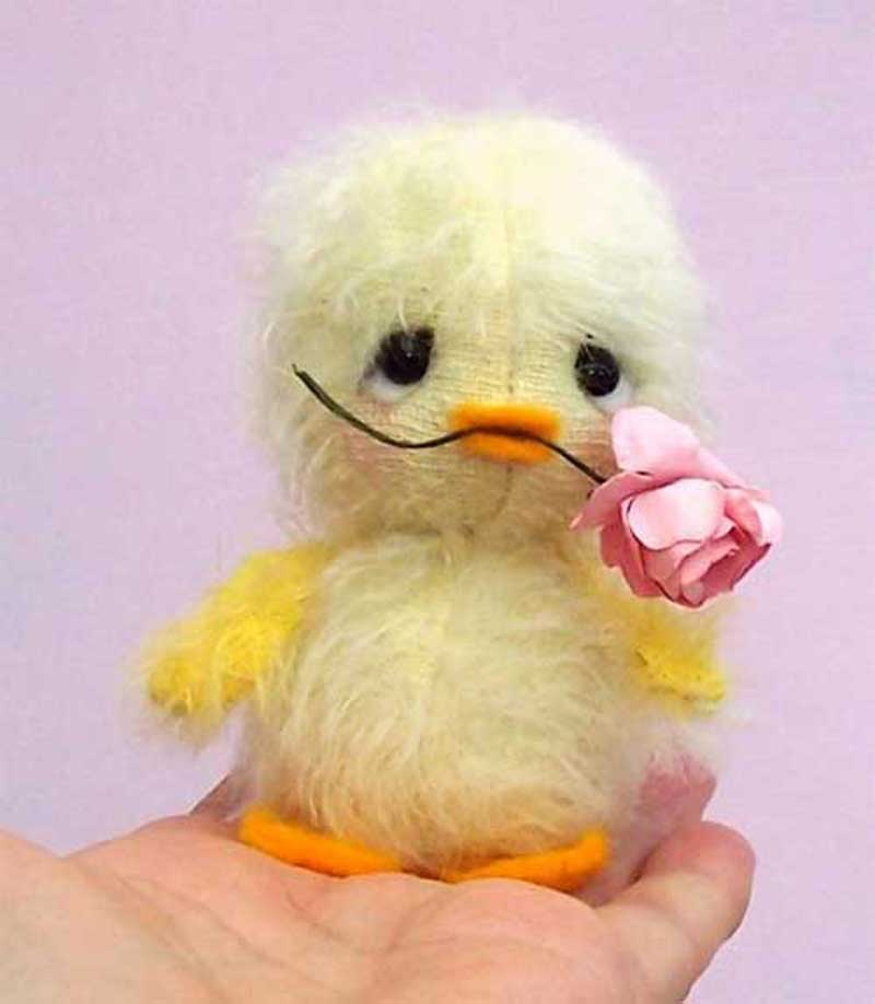 Chirrup Easter Chick Sewing Pattern