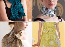 Free eBook: Scarf, Choker and Apron Patterns