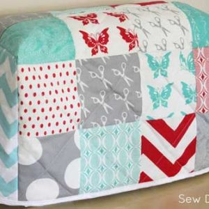 Quilted Sewing Machine Cover – Free Quilting Tutorial