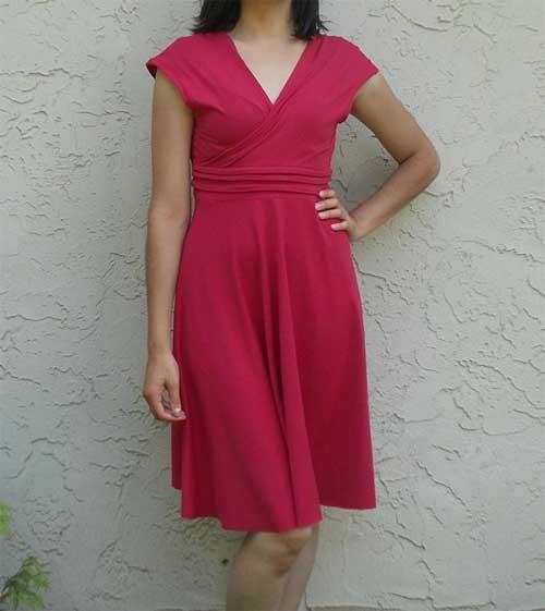 Paula Dress – Free Sewing Pattern