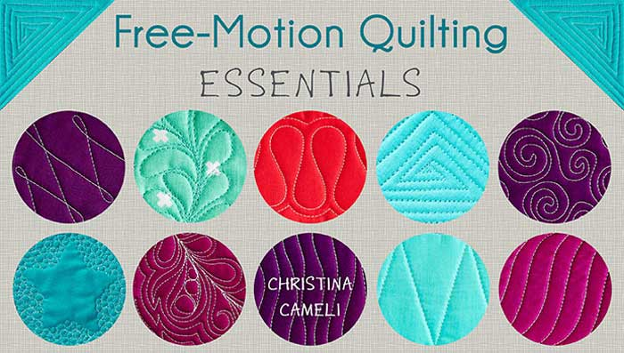 Free-Motion Quilting Essentials Online Class