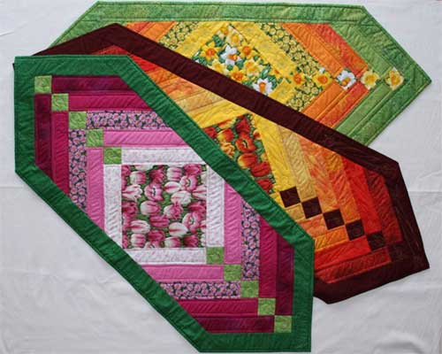 Chevron Table Runner Free Quilting Pattern Love To Sew
