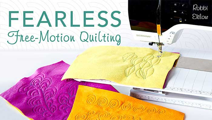 Fearless Free-Motion Quilting Online Class