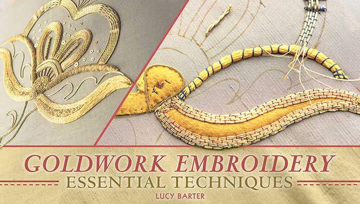 Learn time-honored techniques for working with metallic threads, chips, spangles and more.
