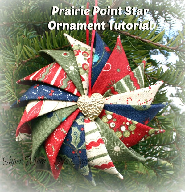 Folded Paper Christmas Ornaments Instructions