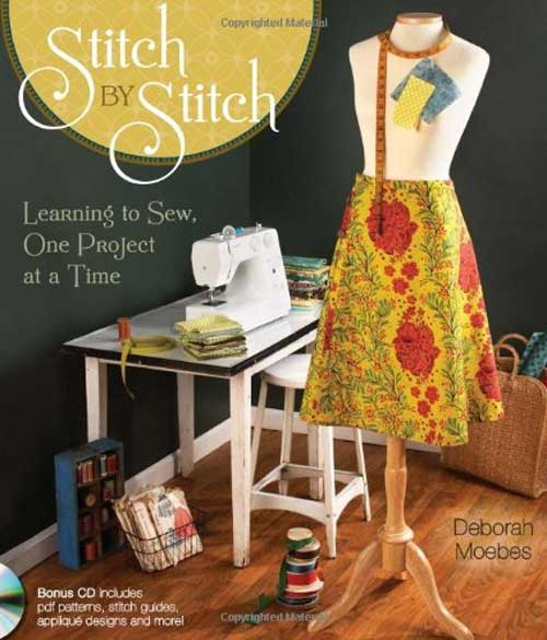 Stitch by Stitch guides you through everything you need to know to start sewing.