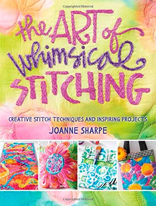 Learn how to create exuberant stitch art and take your stitching in a new direction with paints, markers, and dyes.