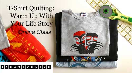 T-Shirt Quilting: Warm Up With Your Life Story Online Class