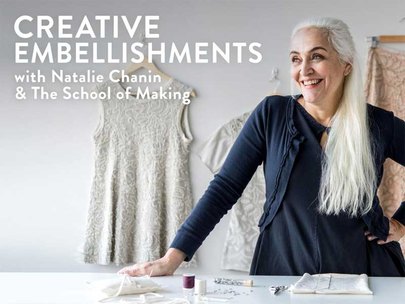 Creative Embellishments Online Class