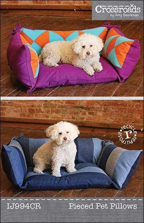 Create a fun and comfortable bed for your furry pal.