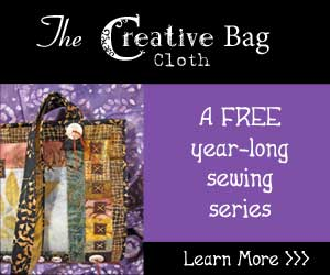 The Creative Cloth Bag - a free year-long sewing event