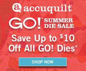 Accuquilt Sales Event