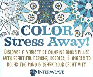 Color Stress Away with Coloring Books at Interweave