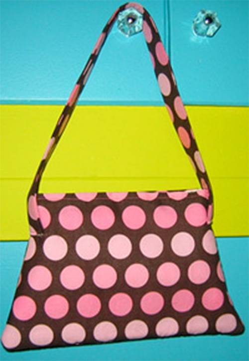 Vintage Purse - Free Sewing Tutorial by Sew Retro