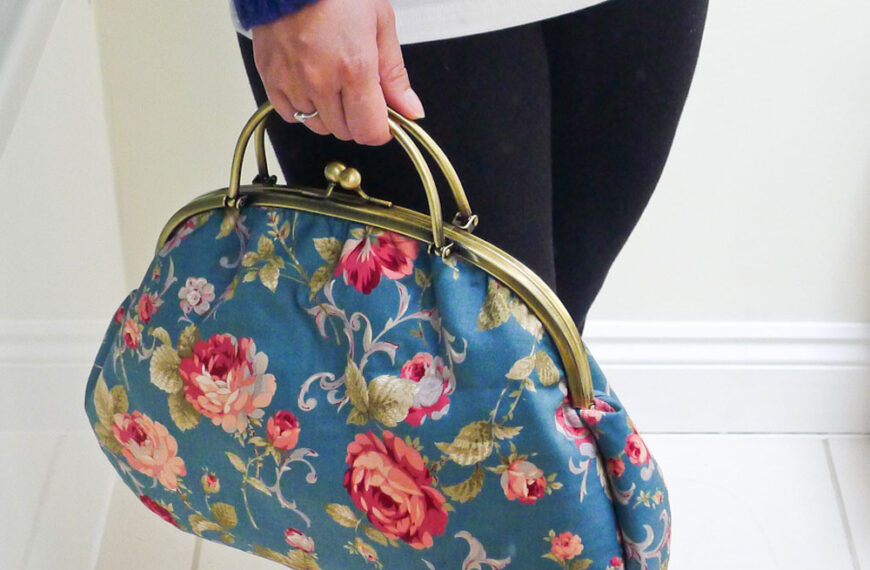 The Graceful Kelly Bag – Free Sewing Tutorial