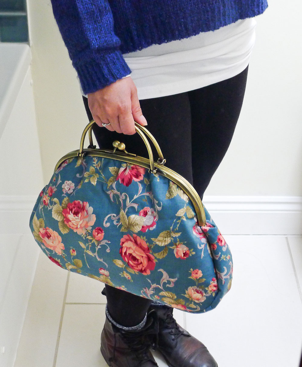 Free Bag Pattern and Tutorial - The Graceful Kelly Bag
