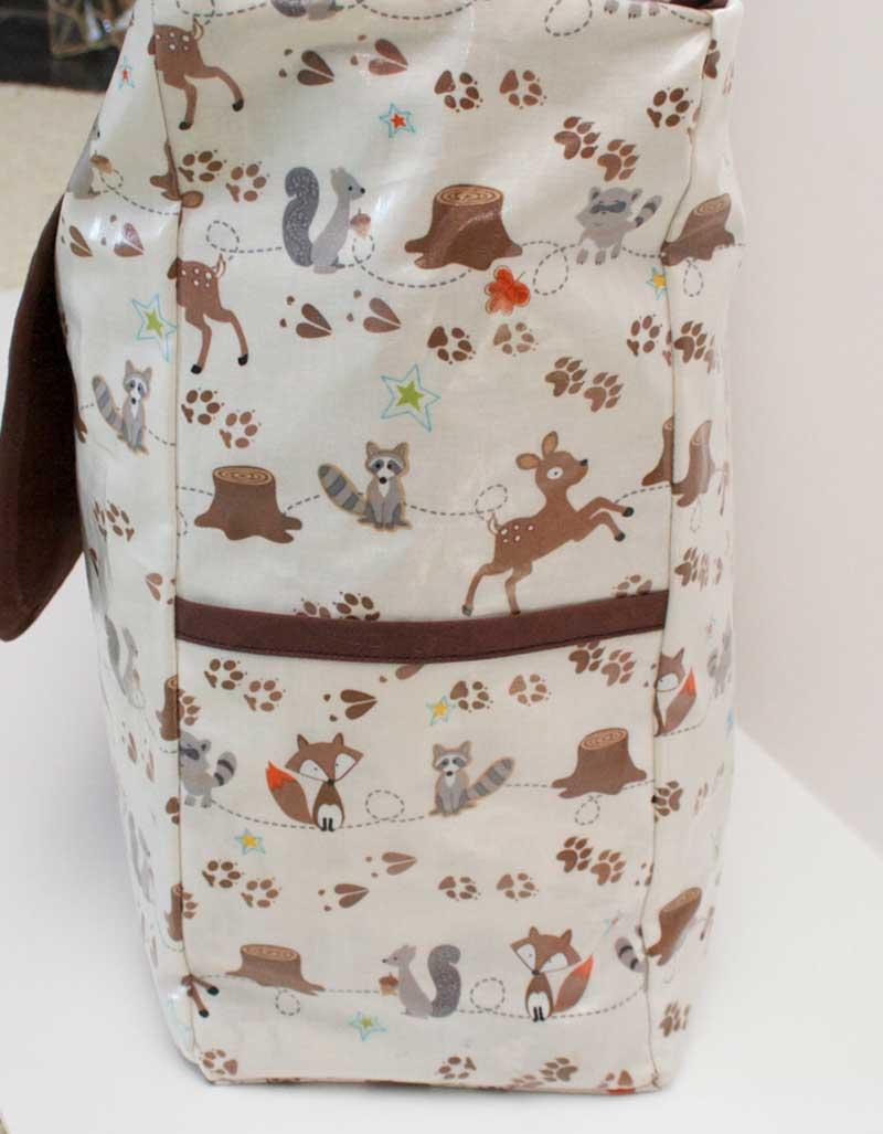 Free Bag Pattern and Tutorial - Laminated Messenger Bag Pattern