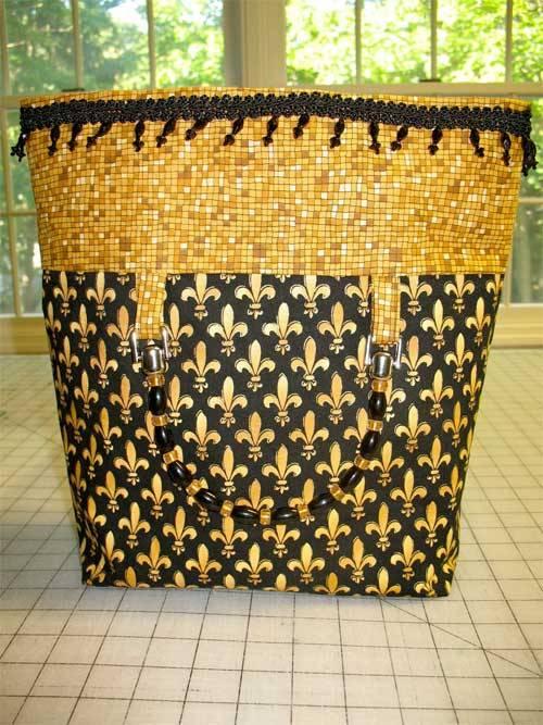 Free Bag Pattern and Tutorial - Ilia Bag