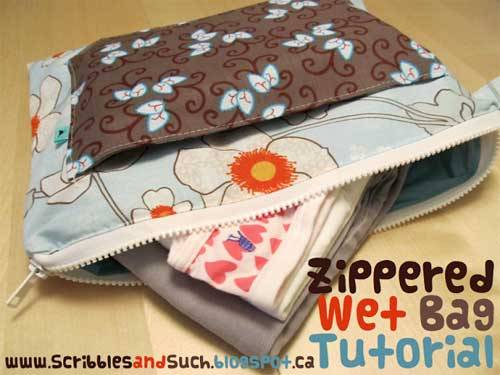 Zippered Wet Bag