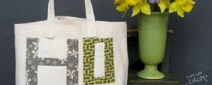 Hope Market Tote – Free Sewing Tutorial