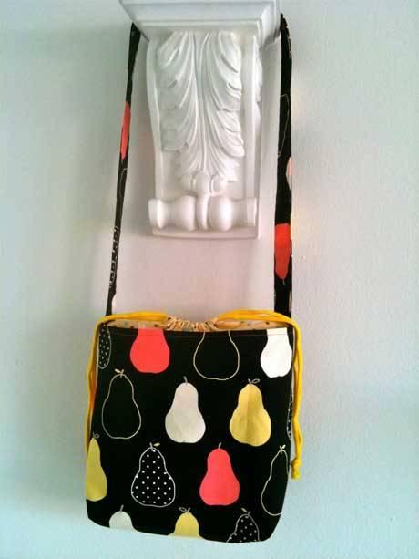 Ai Drawstring Bag - Free Sewing Tutorial