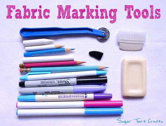 How to Use Fabric Marking Tools