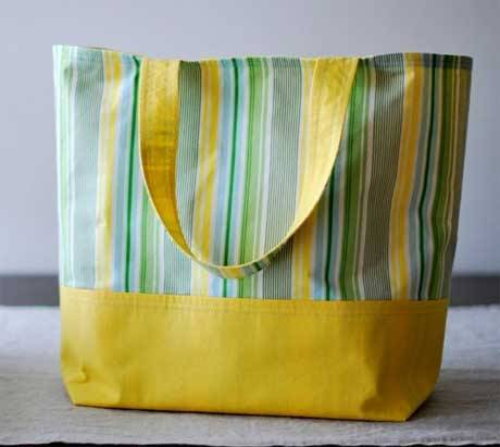 Market Tote - Free Sewing Tutorial