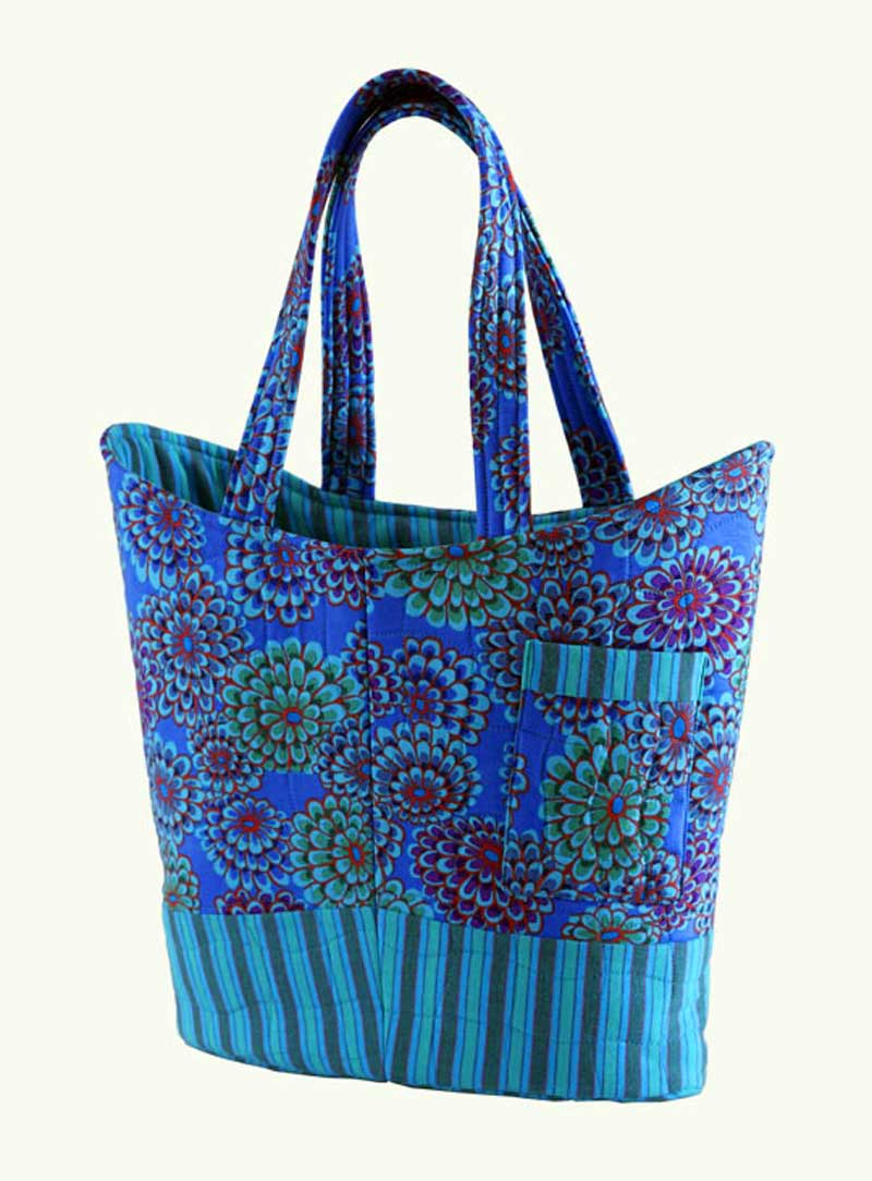 Free Sewing Pattern and Tutorial - Quilted Tote Bag