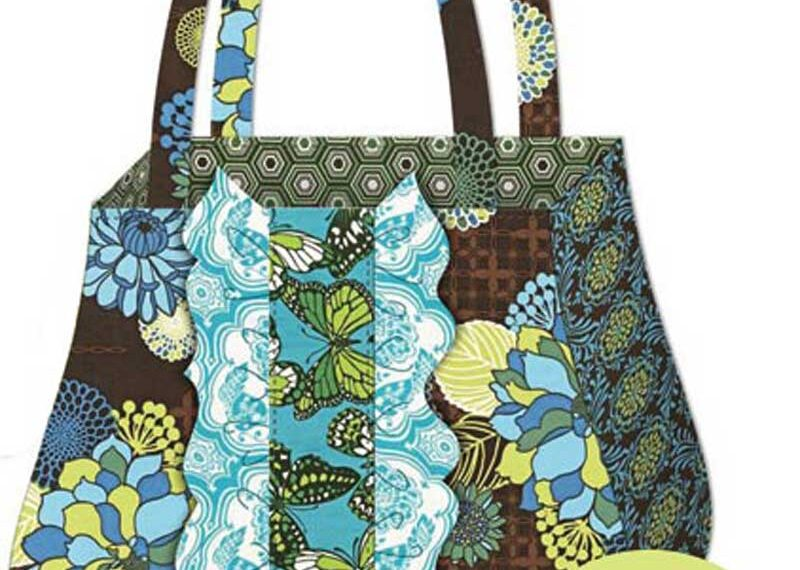 Ruffle Tote & Coin Purse – Free Sewing Pattern