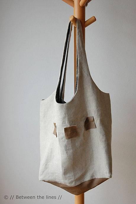 Shopping Bag - Free Sewing Pattern