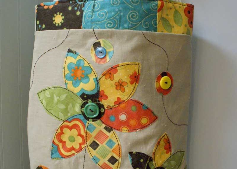 Applique Tote – Free Sewing Tutorial