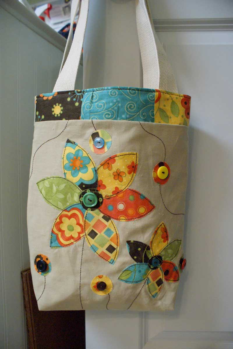 Applique Tote - Free Sewing Tutorial
