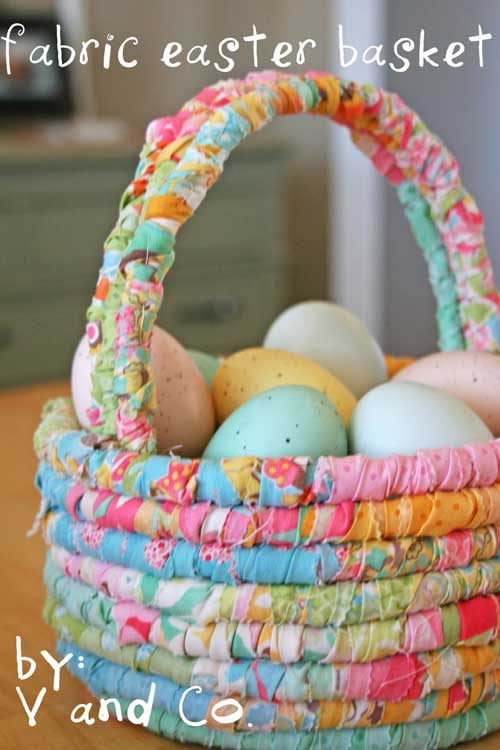 Fabric Easter Basket - Free Sewing Tutorial