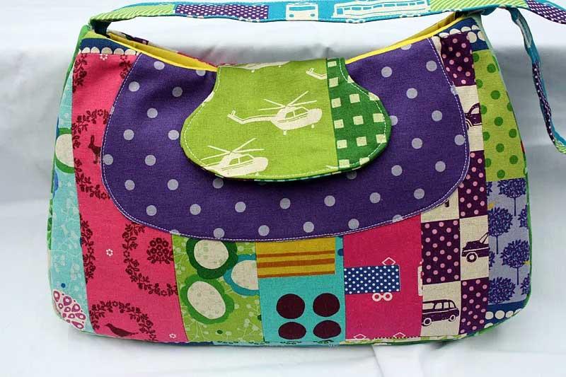 Free Bag Pattern and Tutorial - Fylerion Bag
