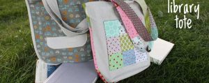 Library Tote – Free Sewing Tutorial