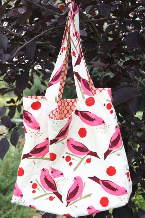 Market Bag - Free Sewing Tutorial