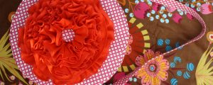 Red Poppy Bag – Free Sewing Tutorial