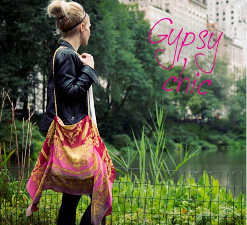 Free Sewing Tutorial - Scarf Bag