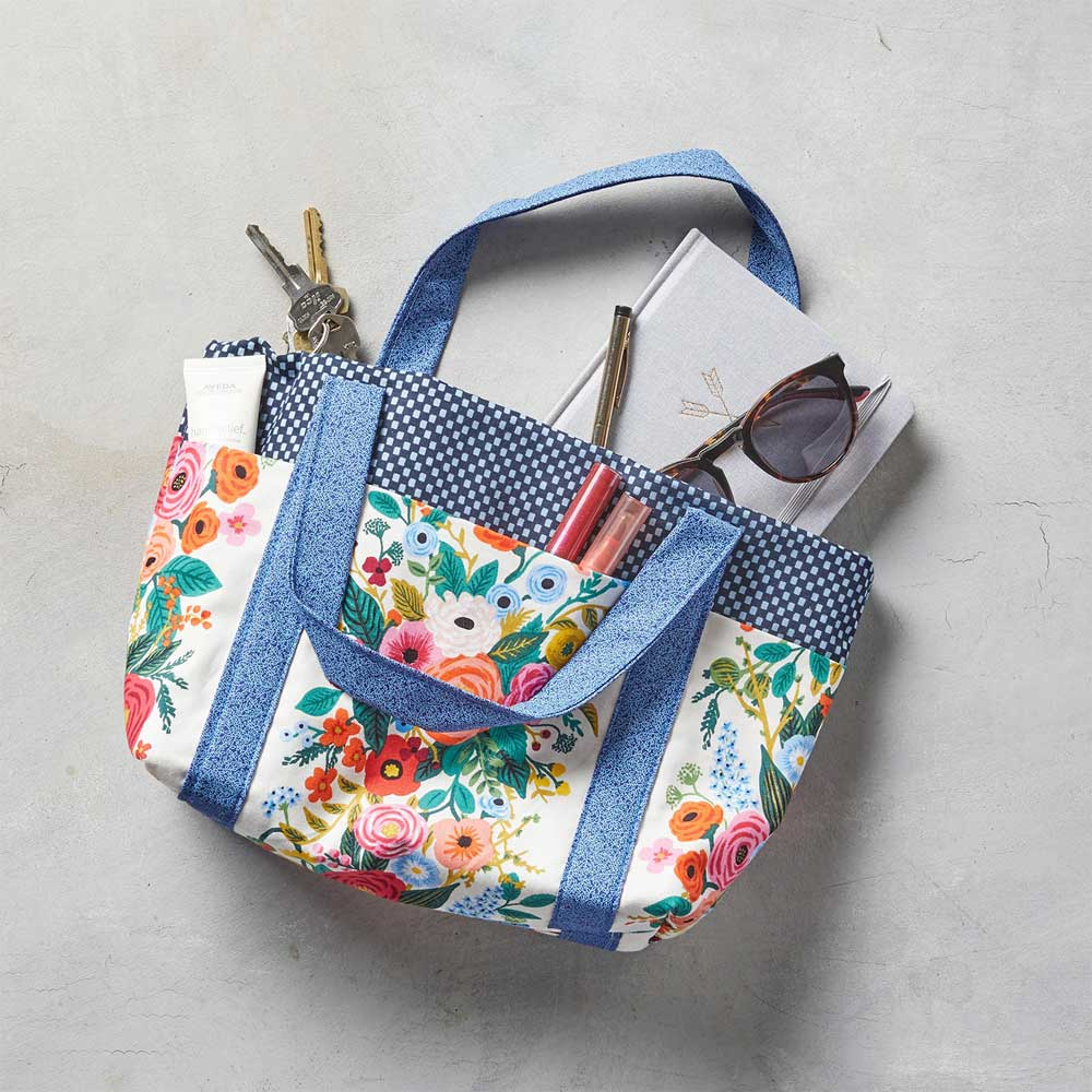 Six Pocket Bag – Free Sewing Pattern
