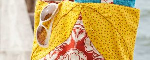 Sunny Beach Tote – Free Sewing Tutorial