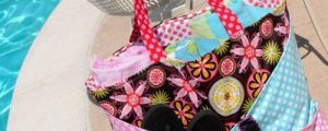 Sunny Days Beach Bag – Free Sewing Tutorial