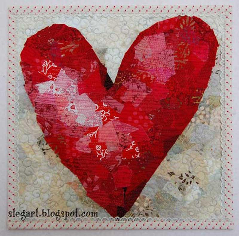 Valentine Heart Quilt – Free Quilt Tutorial