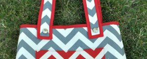 Zig Zag Bag – Free Sewing Tutorial