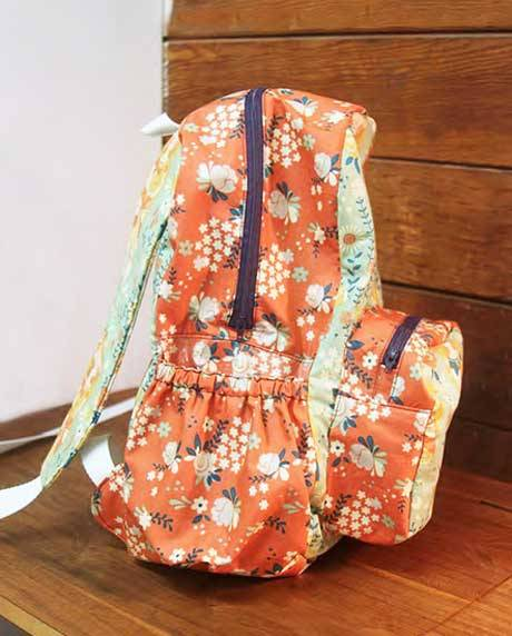 Backpack To School Bag Free Sewing Tutorial Love To Sew