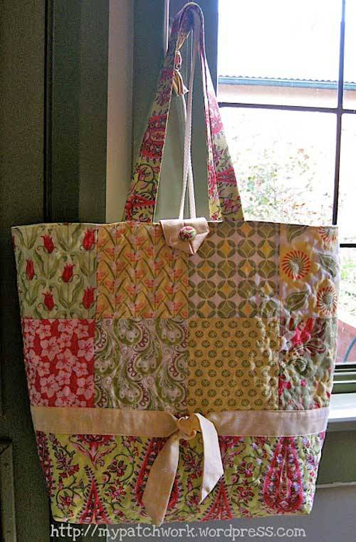 Charm Pack Tote Bag