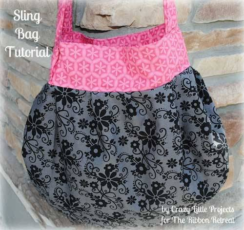 Sling Bag – Free Sewing Tutorial