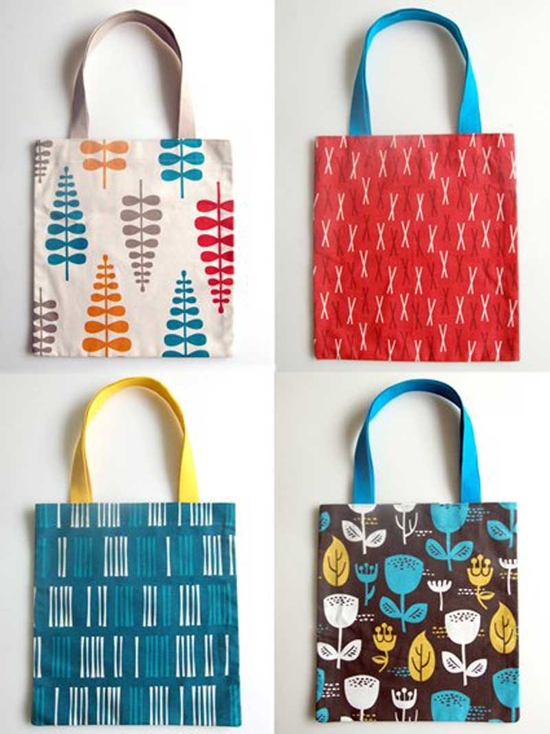 Free Bag Pattern and Tutorial - The Twenty Minute Tote