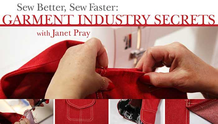 Sew Better, Sew Faster: Online Sewing Class