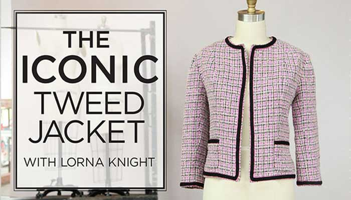 The Iconic Tweed Jacket Online Class