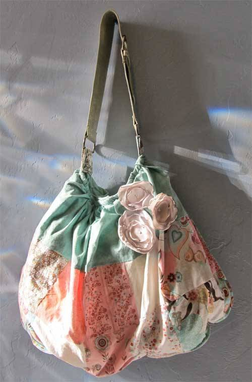 Free Bag Pattern and Tutorial - Skirt to Purse